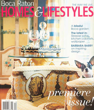 Boca Raton Homes and Lifestyles Cover